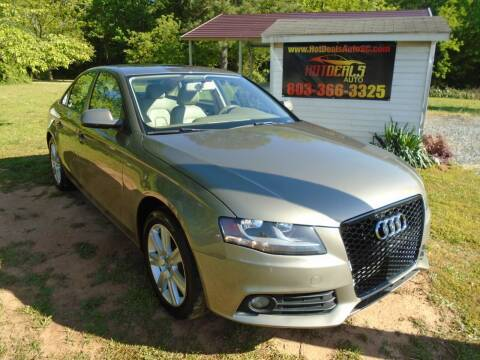2011 Audi A4 for sale at Hot Deals Auto LLC in Rock Hill SC
