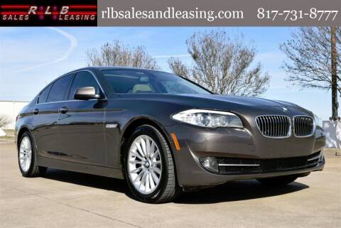 2013 BMW 5 Series for sale at RLB Sales and Leasing in Fort Worth TX