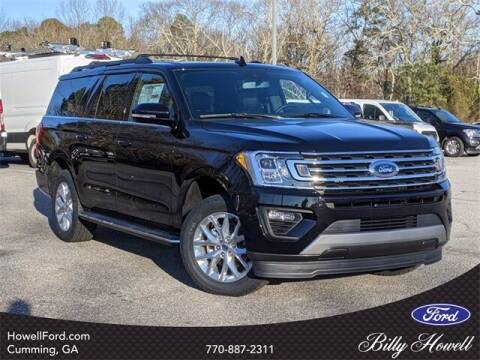 2021 Ford Expedition MAX for sale at BILLY HOWELL FORD LINCOLN in Cumming GA