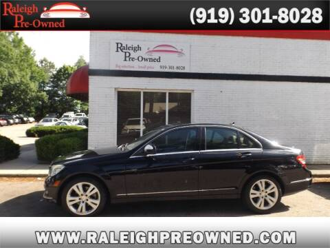 2009 Mercedes-Benz C-Class for sale at Raleigh Pre-Owned in Raleigh NC