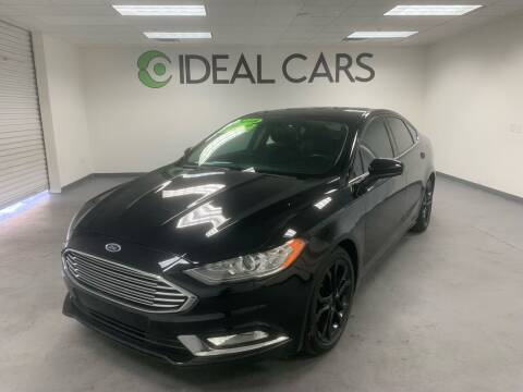 2018 Ford Fusion for sale at Ideal Cars Atlas in Mesa AZ