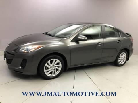 2012 Mazda MAZDA3 for sale at J & M Automotive in Naugatuck CT