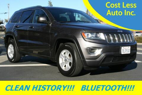 2014 Jeep Grand Cherokee for sale at Cost Less Auto Inc. in Rocklin CA