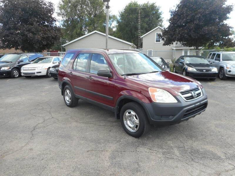 2002 Honda CR-V for sale at RJ Motors in Plano IL