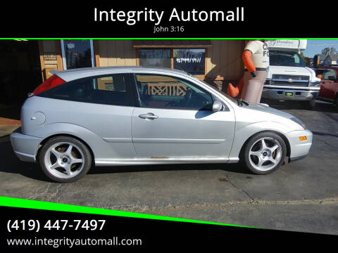 2002 Ford Focus SVT for sale at Integrity Automall in Tiffin OH