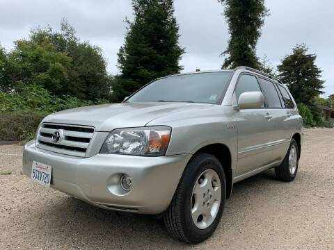 2006 Toyota Highlander for sale at Santa Barbara Auto Connection in Goleta CA