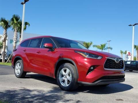 2021 Toyota Highlander for sale at PHIL SMITH AUTOMOTIVE GROUP - Toyota Kia of Vero Beach in Vero Beach FL