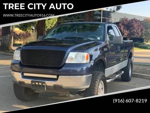 2005 Ford F-150 for sale at TREE CITY AUTO in Rancho Cordova CA