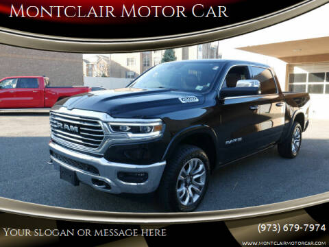 2019 RAM Ram Pickup 1500 for sale at Montclair Motor Car in Montclair NJ