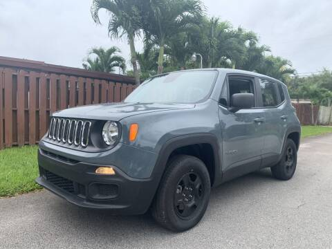 2018 Jeep Renegade for sale at Auto Direct of South Broward in Miramar FL