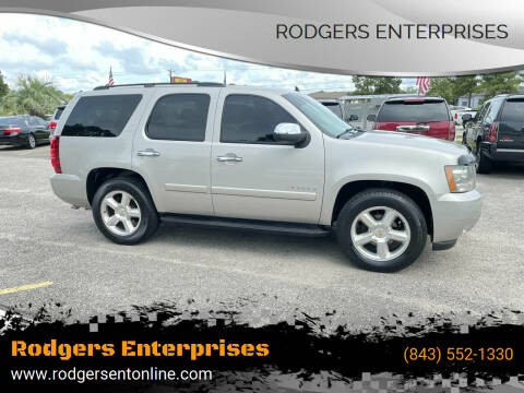 2008 Chevrolet Tahoe for sale at Rodgers Enterprises in North Charleston SC