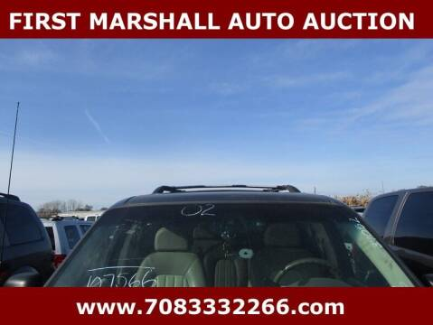 2002 Mercury Mountaineer for sale at First Marshall Auto Auction in Harvey IL