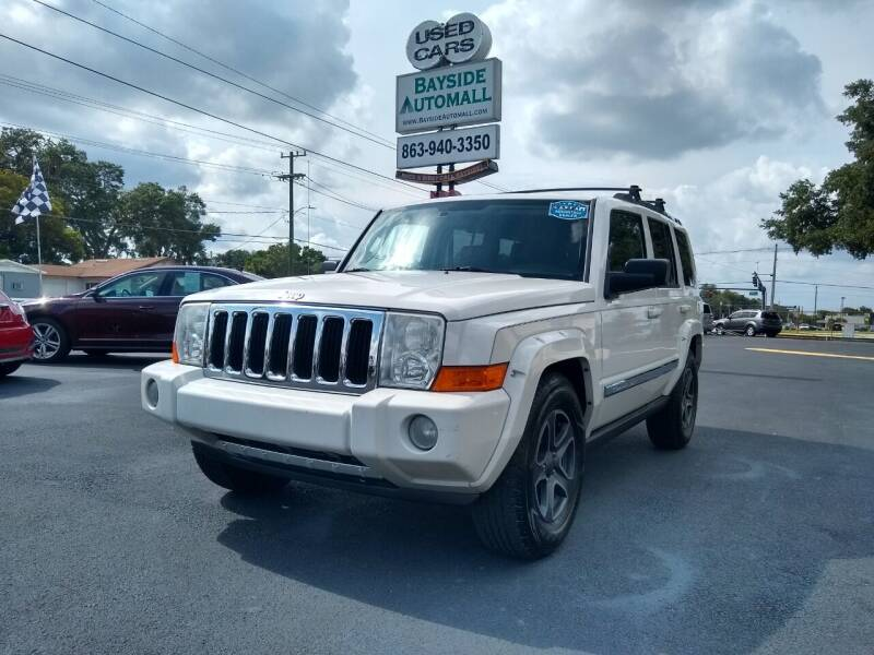 2008 Jeep Commander for sale at BAYSIDE AUTOMALL in Lakeland FL