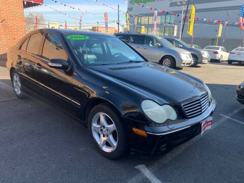 2002 Mercedes-Benz C-Class for sale at United Auto Sales of Newark in Newark NJ