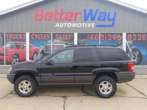 2001 Jeep Grand Cherokee for sale at Betterway Automotive Inc - of Auburn in Auburn NE