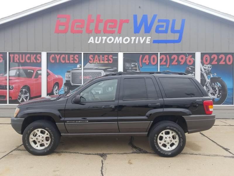 2001 Jeep Grand Cherokee for sale at Betterway Automotive Inc - of Auburn in Auburn NE