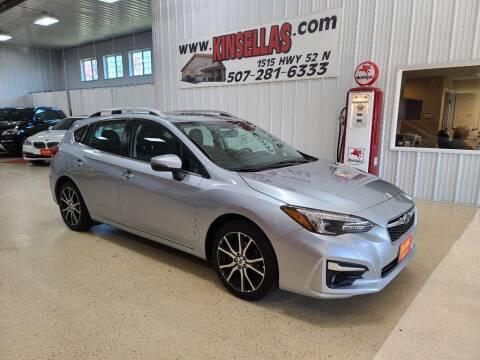 2017 Subaru Impreza for sale at Kinsellas Auto Sales in Rochester MN