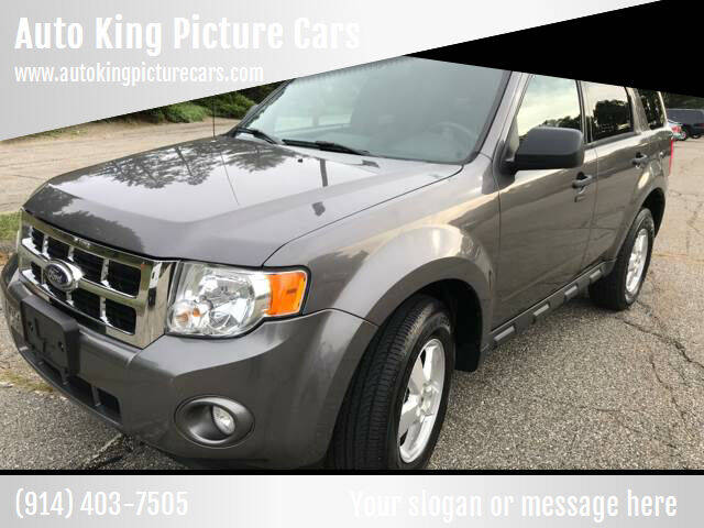 2010 Ford Escape for sale at Auto King Picture Cars in Pound Ridge NY