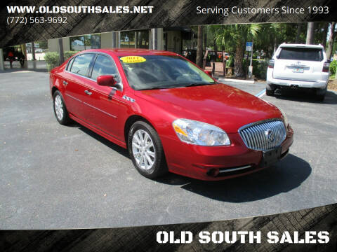 2011 Buick Lucerne for sale at OLD SOUTH SALES in Vero Beach FL