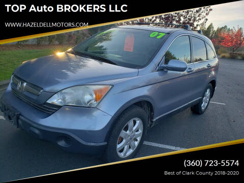 2007 Honda CR-V for sale at TOP Auto BROKERS LLC in Vancouver WA