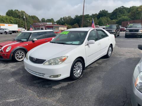 2004 Toyota Camry for sale at Wheel'n & Deal'n in Lenoir NC