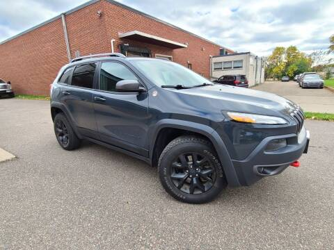 2017 Jeep Cherokee for sale at Minnesota Auto Sales in Golden Valley MN
