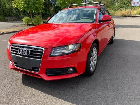 2009 Audi A4 for sale at CAR MASTER PROS AUTO SALES in Lynnwood WA