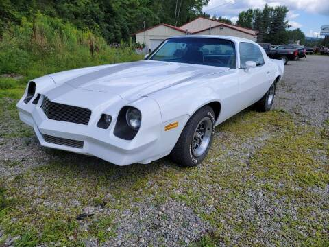 1981 Chevrolet Camaro for sale at Alfred Auto Center in Almond NY
