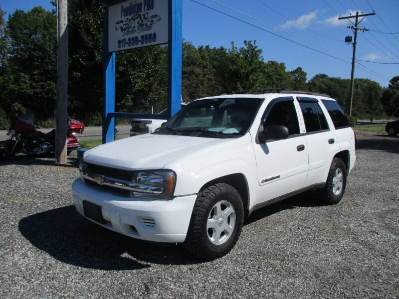 2002 Chevrolet TrailBlazer for sale at PENDLETON PIKE AUTO SALES in Ingalls IN