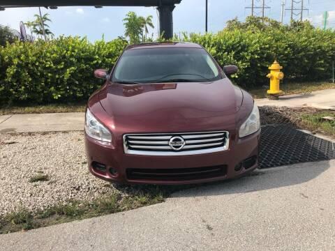 2013 Nissan Maxima for sale at Auto Credit & Finance Corp. in Miami FL
