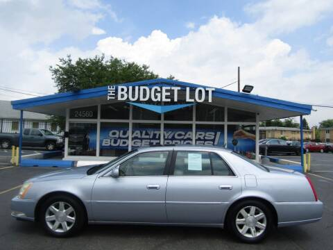 2006 Cadillac DTS for sale at THE BUDGET LOT in Detroit MI
