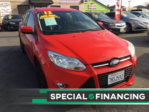 2012 Ford Focus for sale at Super Cars Sales Inc #1 in Oakdale CA