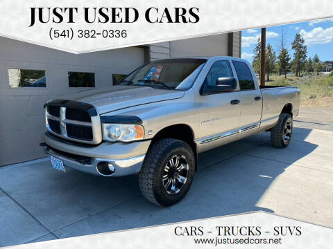 2003 Dodge Ram Pickup 2500 for sale at Just Used Cars in Bend OR