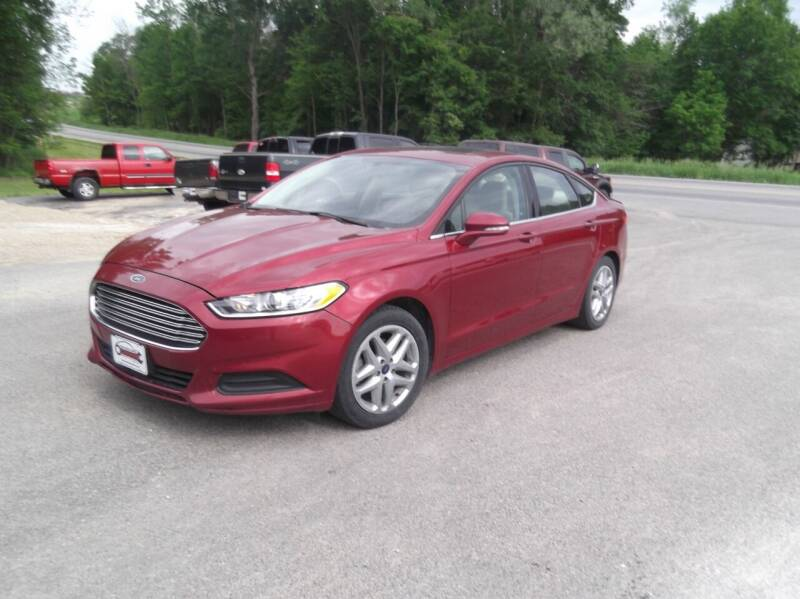 2015 Ford Fusion for sale at Clucker's Auto in Westby WI