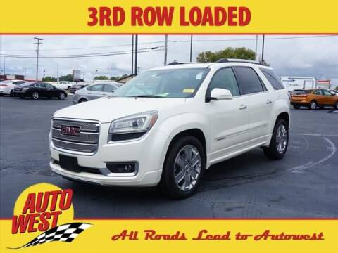 2014 GMC Acadia for sale at Autowest of Plainwell - Autowest of Allegan in Allegan MI