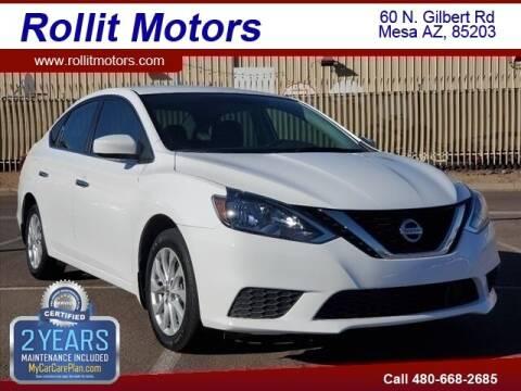 2019 Nissan Sentra for sale at Rollit Motors in Mesa AZ