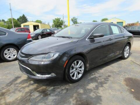 2015 Chrysler 200 for sale at RPM AUTO SALES in Lansing MI