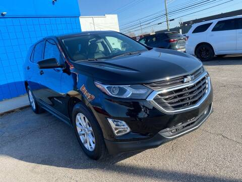 2018 Chevrolet Equinox for sale at M-97 Auto Dealer in Roseville MI