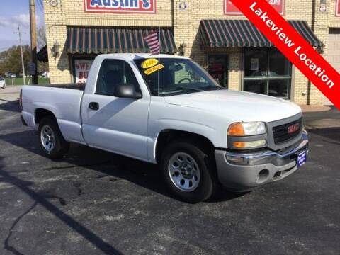 2006 GMC Sierra 1500 for sale at Austins At The Lake in Lakeview OH