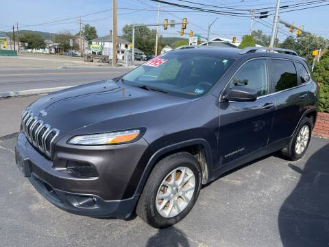 2016 Jeep Cherokee for sale at Chilson-Wilcox Inc Lawrenceville in Lawrenceville PA