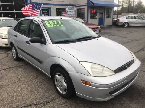 2001 Ford Focus for sale at Klein on Vine in Cincinnati OH