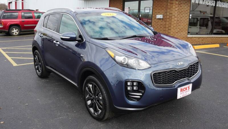 2018 Kia Sportage for sale at Ricks Auto Sales, Inc. in Kenton OH