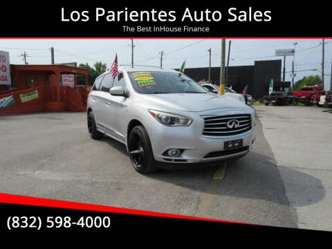 2015 Infiniti QX60 for sale at Los Parientes Auto Sales in Houston TX