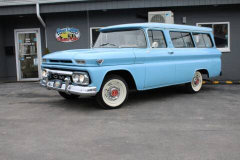 1963 GMC Suburban for sale at Great Lakes Classic Cars & Detail Shop in Hilton NY