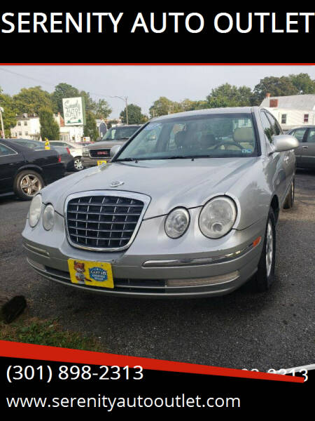 2005 Kia Amanti for sale at SERENITY AUTO OUTLET in Frederick MD