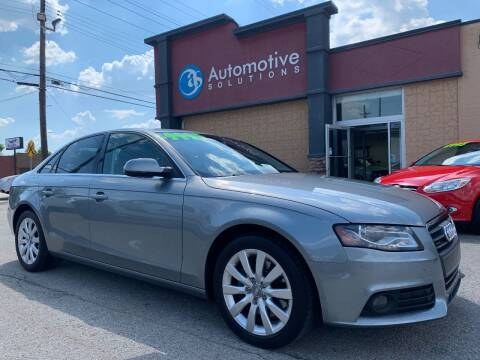2011 Audi A4 for sale at Automotive Solutions in Louisville KY