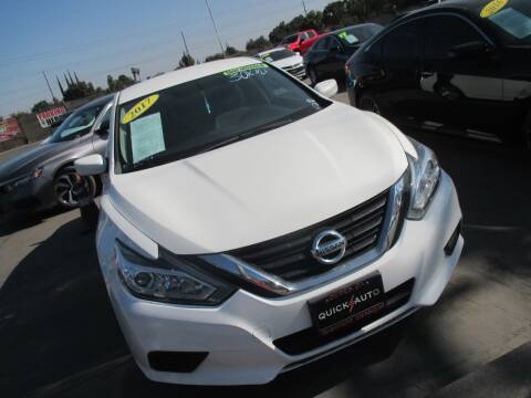 2017 Nissan Altima for sale at Quick Auto Sales in Modesto CA