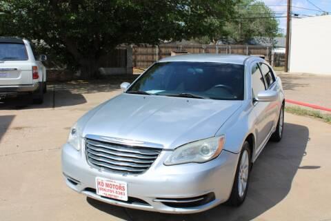 2011 Chrysler 200 for sale at KD Motors in Lubbock TX
