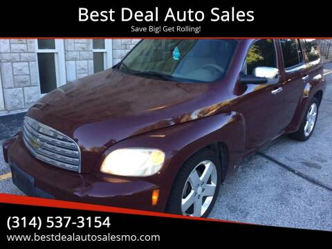 2006 Chevrolet HHR for sale at Best Deal Auto Sales in Saint Charles MO