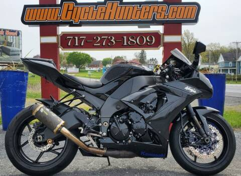 2010 Kawasaki Ninja ZX-10R for sale at Haldeman Auto in Lebanon PA